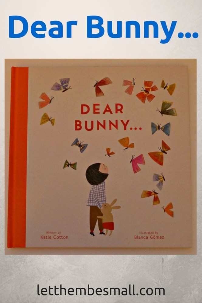 Dear Bunny is a charming sweet story about friendship and being grateful for what you have, and learning to delight in the little things