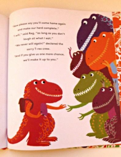 T-Veg carrot crunching dinosaur