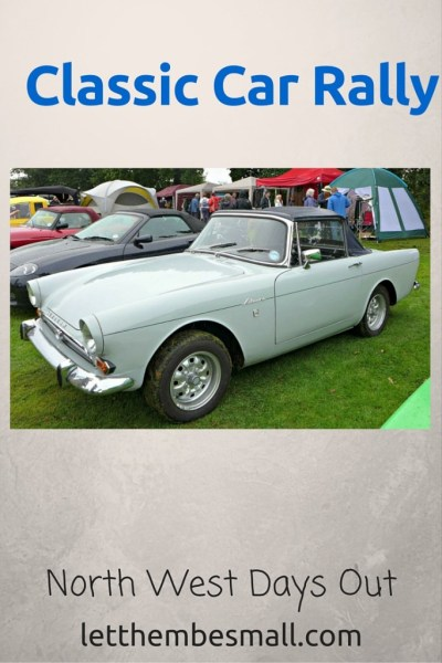 Classic Car rallys are a great day out for the family