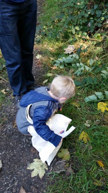 autumn treasure hunt
