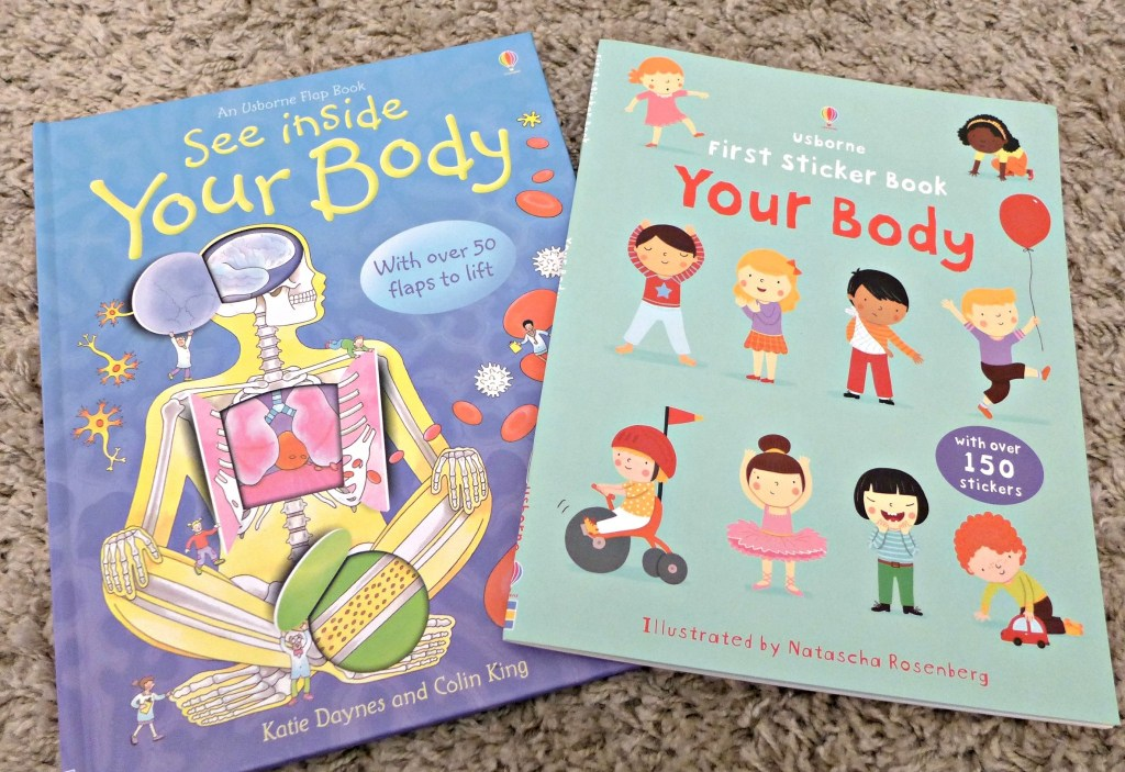 Toddler Activities – Learning about the body