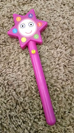 hollys magical learning wand