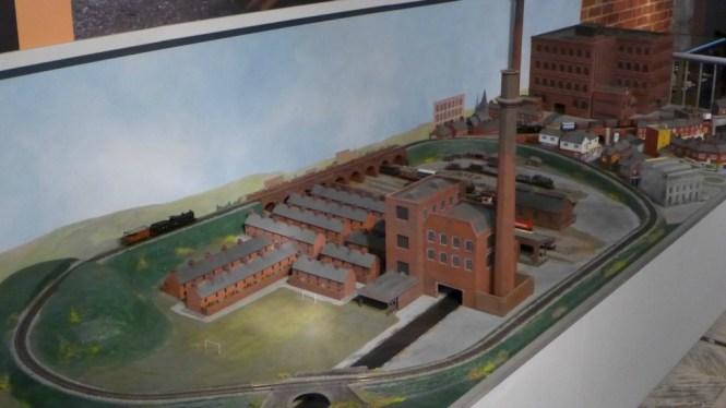 Portland Basin Museum model railway