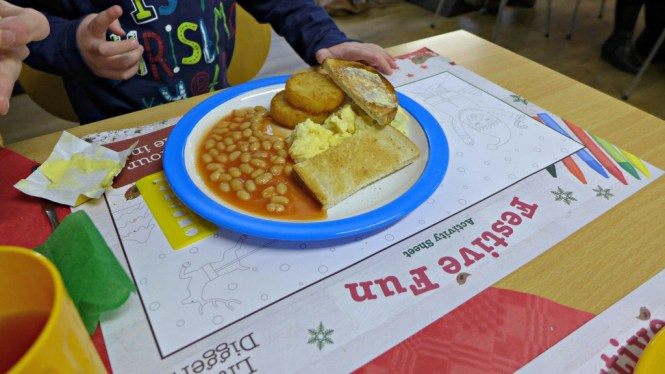 wyevale breakfast with father christmas
