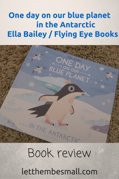 One day on our blue planet book review - great book for introducing the Antarctic to children