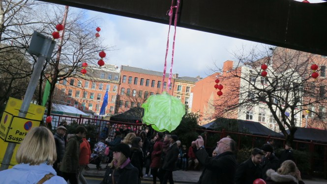 Chinese New Year Manchester cabbage