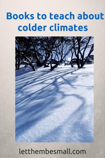 Pre school books about colder climates