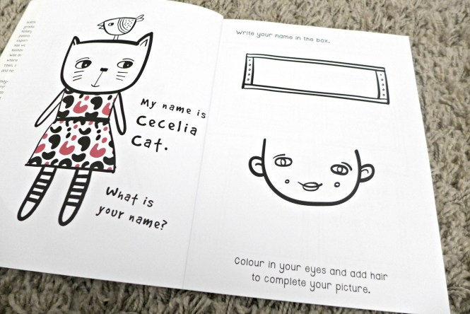 wee gallery activity book