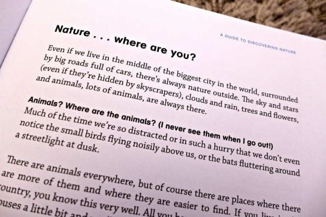 Outside a guide to discovering nature review