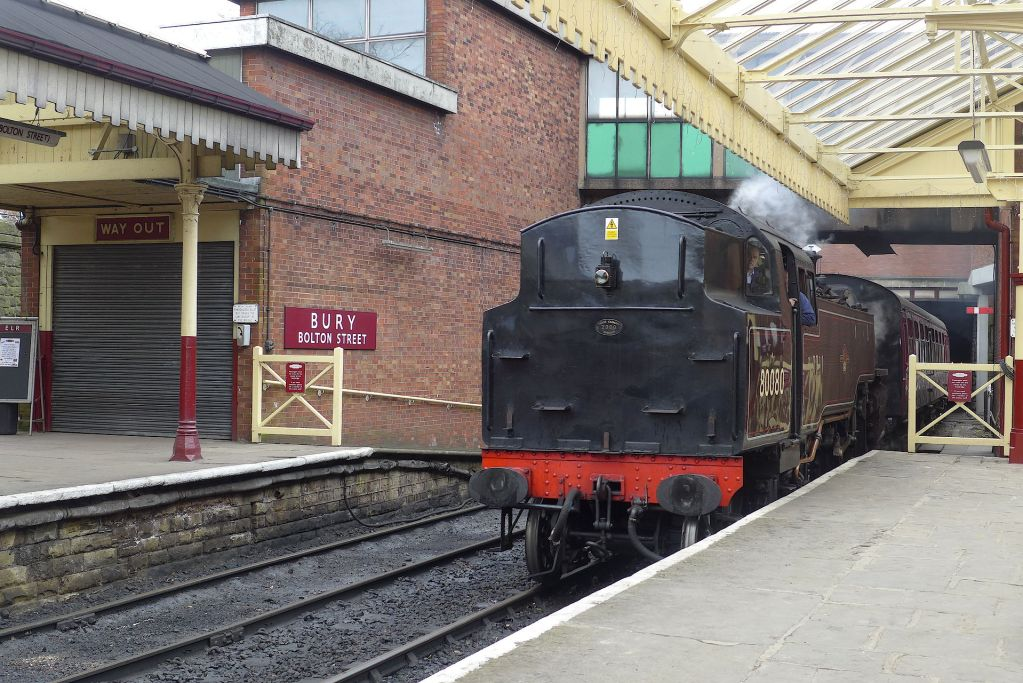 A trip on the East Lancashire Railway