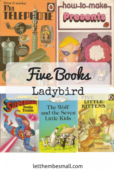 five ladybird books