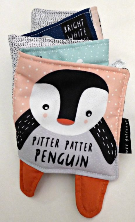 wee gallery pitter patter penguin
