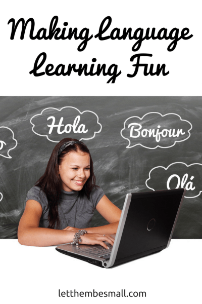see my top tipes and advice on how to keep language learning fun for pre schoolers