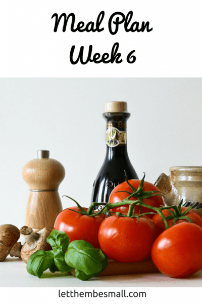 Family meal planning inspiration