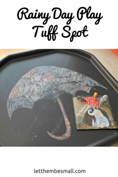 See our rainy day tuff spot - and blow away those umbrellas