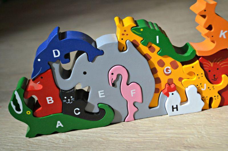 SRi Toys UK animal alphabet