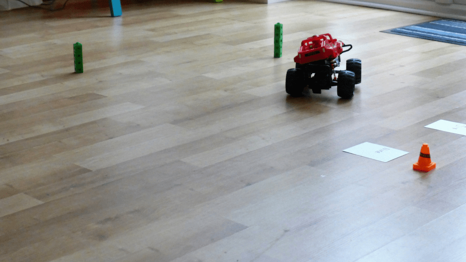 Fun Learning with Monster Smash Ups Remote Control Car
