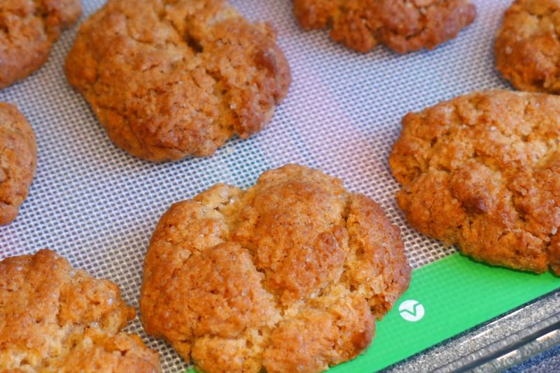 Super Quick and Easy Ginger Biscuits