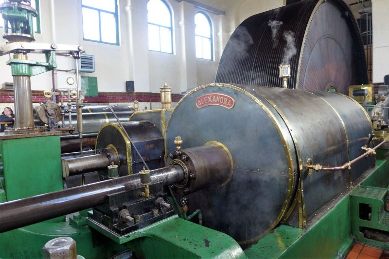 Alexandra Steam Engine at ellenroad engine house