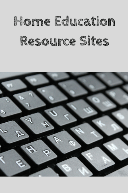Resources for Home Education