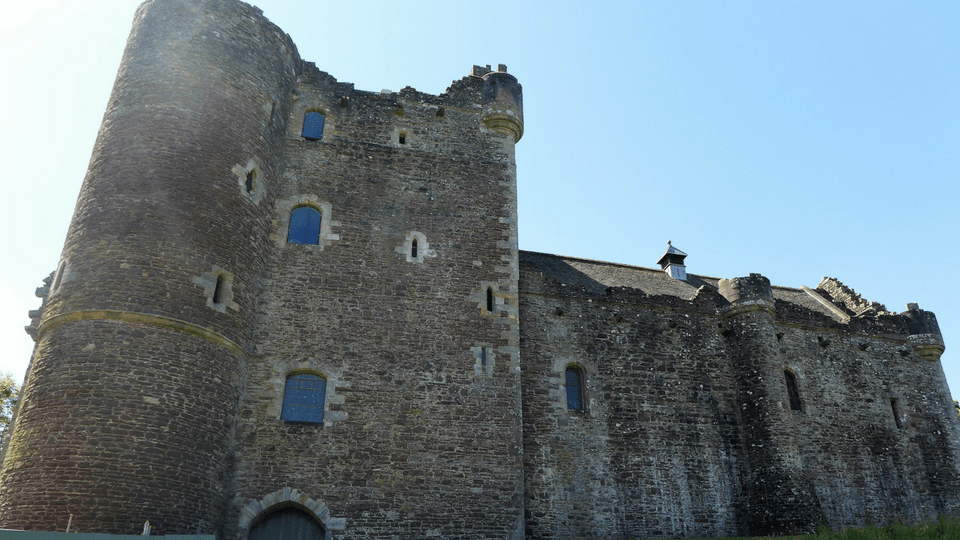 Doune Castle with Kids