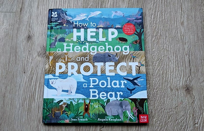how to help a hedgehog and protect a polar bear book