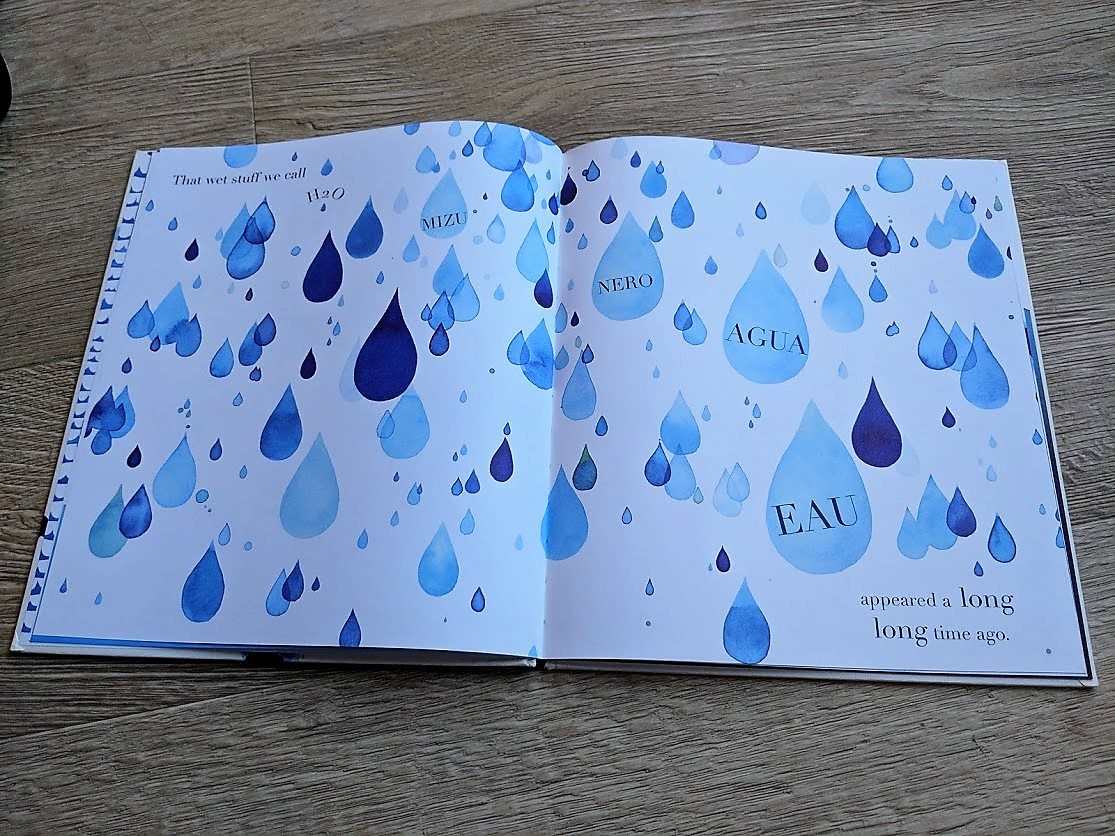 once upon a raindrop book