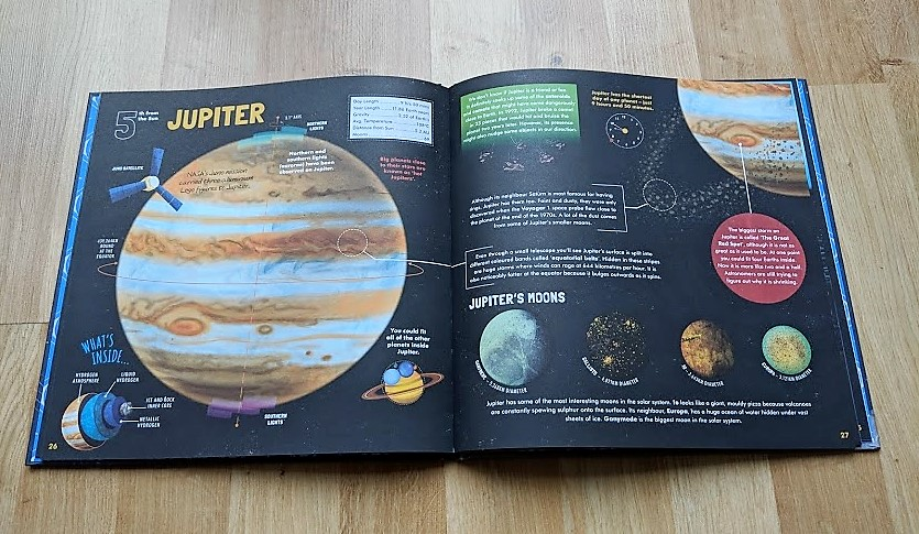 exploring our solar system book
