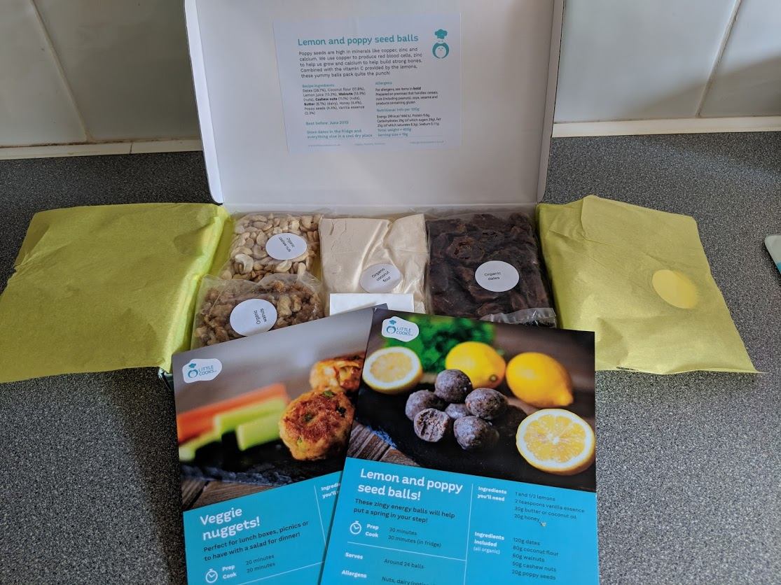 Little Cooks Co subscription box review