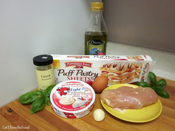 Chicken Pastry Pockets Ingredients