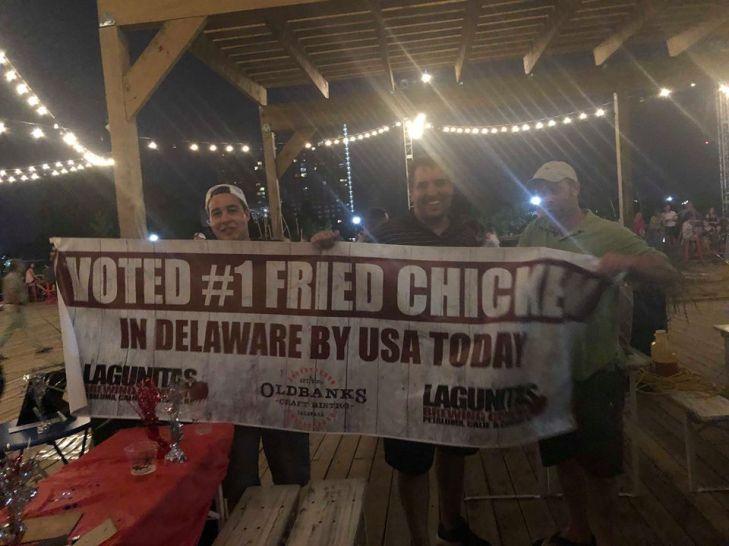 Old Banks Winner of USA Today Best Chicken in Delaware