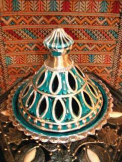 Tajine earthenware dish...