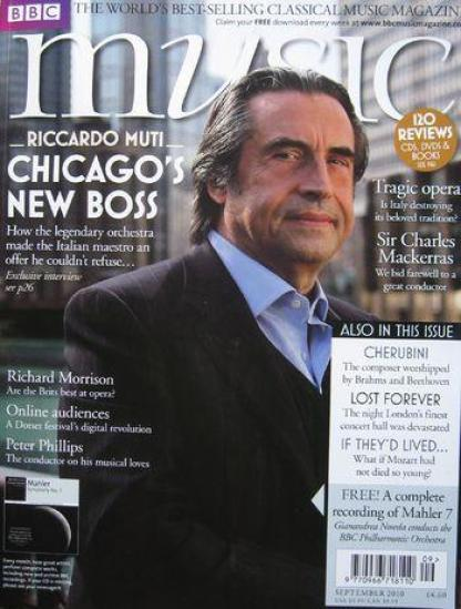 Riccardo Muti... and the Chicago Symphony Orchestra...