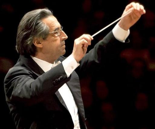 Muti conducting...