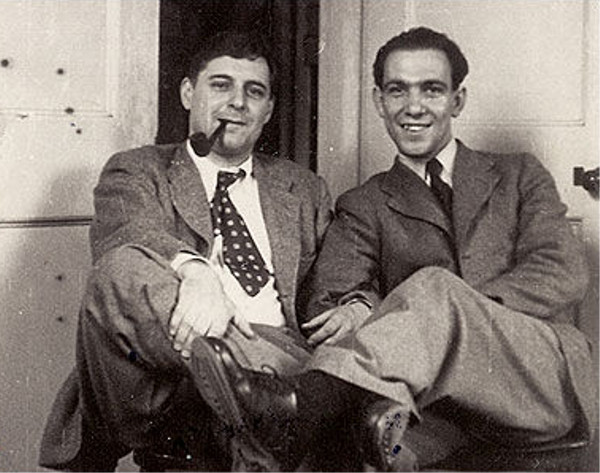 A young Stéphane Hessel on the right...