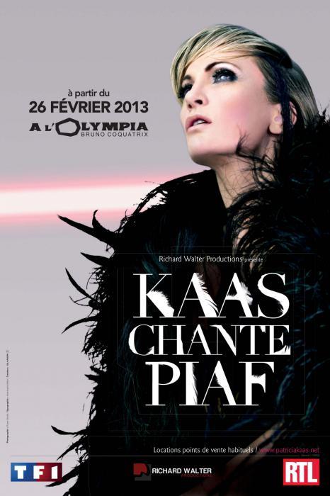 Kaas... Chante Piaf... sur scène...
