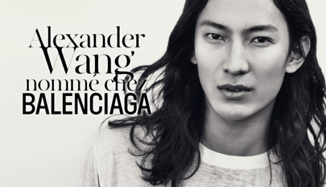 Alexander Wang working at Balenciaga...