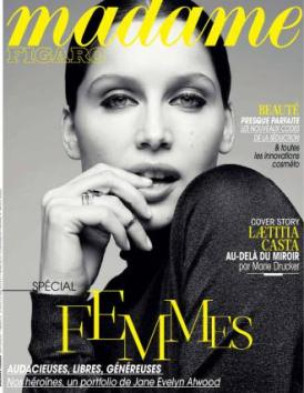 "Madame Figaro's ""Femmes"" cover..."