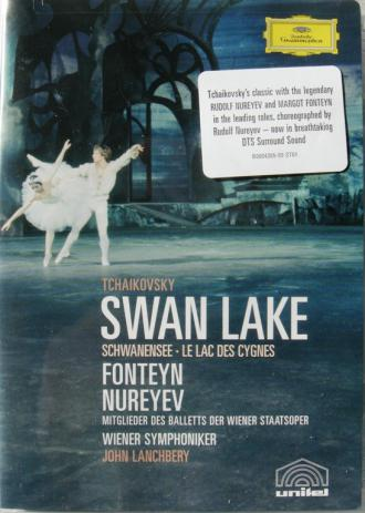 Rudolf Nureyev and Margot Fonteyn in Swan Lake...