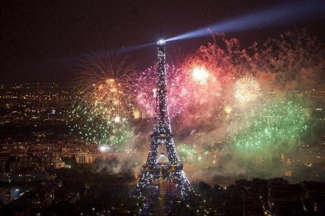 Bastille Day fireworks... 14 July 2013...