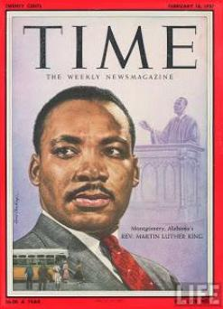 Martin Luther King Jr. on the cover of TIME magazine...