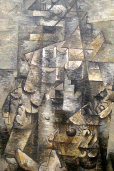 """Man with a guitar""... by Braque..."