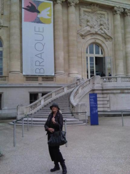"""Georges Braque"" at the Grand Palais..."