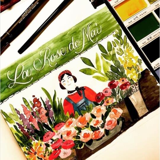 La Rose de Mai