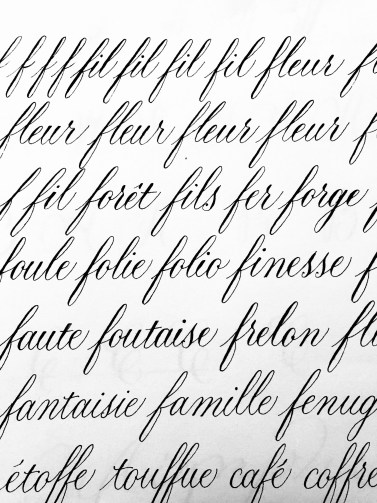 #calligraphie #calligraphy #practice #copperplate