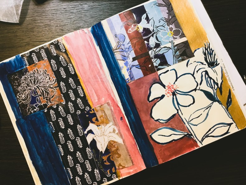 #artjournal #sketchbook #COLLAGE