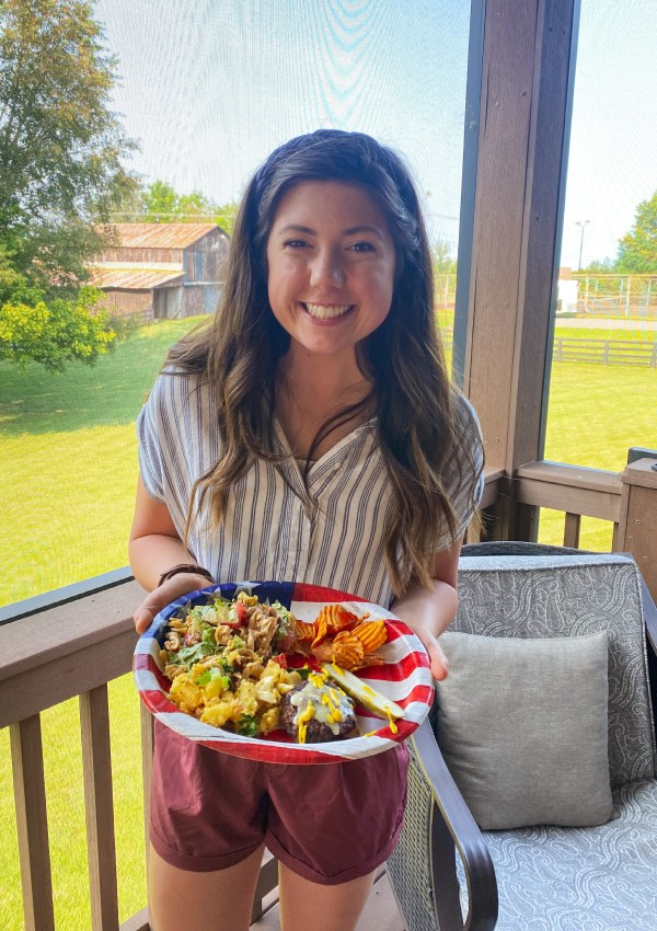 Easy Meals, Blackberry Picking, & the 4th of July