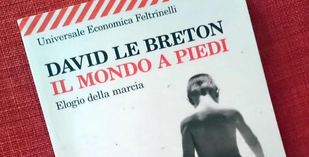 Il mondo a piedi, David Le Breton, copertina