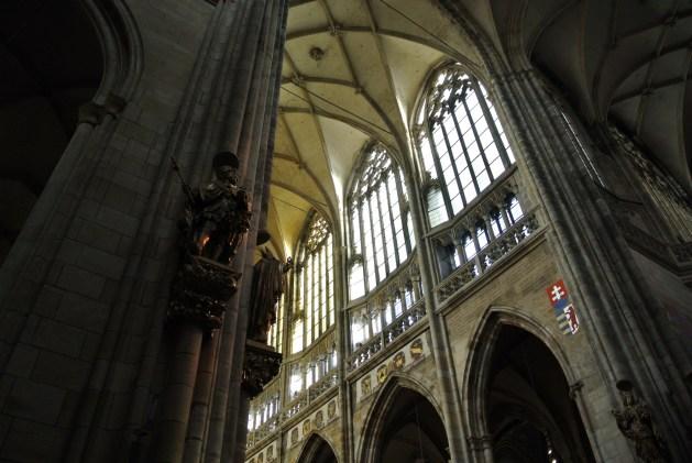 Praga: cattedrale di San Vito, interno | Credit: lettureinviaggio