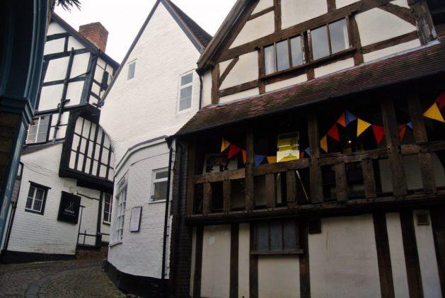 Shrewsbury, Inghilterra: vicolo